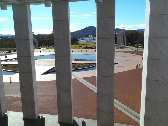 Queens terrace Cafe, Parliament House, Canberra