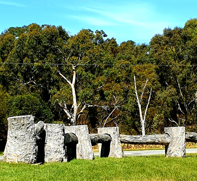 Quirky, Winery, tourism, sculpture, fun, attraction, South Australia