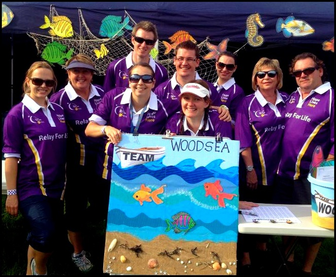 Relay for Life, Cancer Council, Team Woodsea