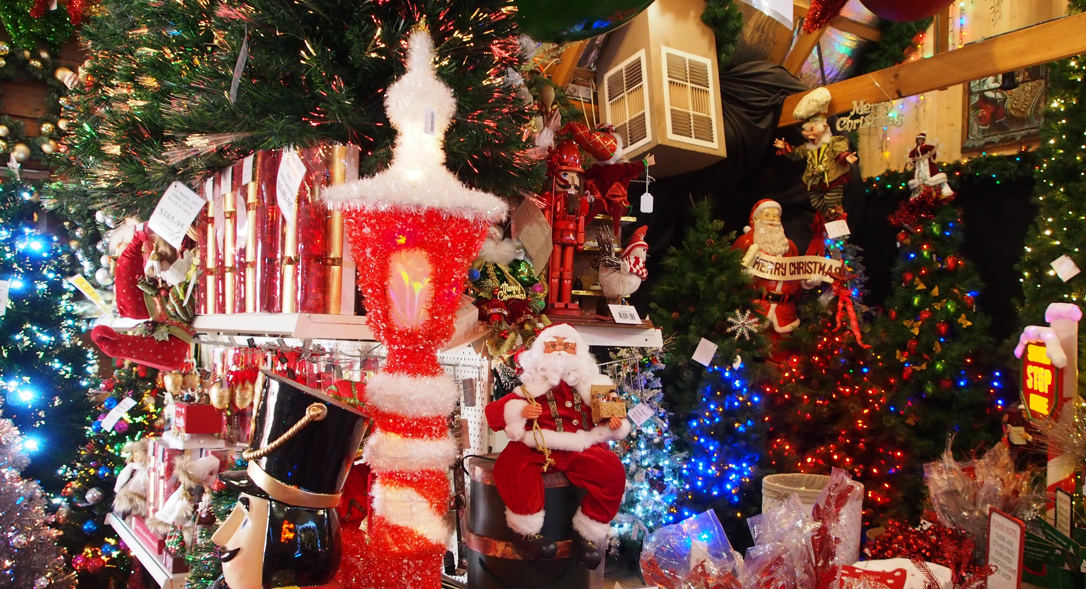 Christmas Decorations Myer : Myer christmas windows melbourne by lorraine a