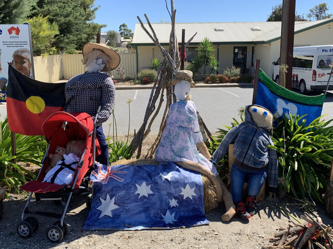 scarecrows in angaston