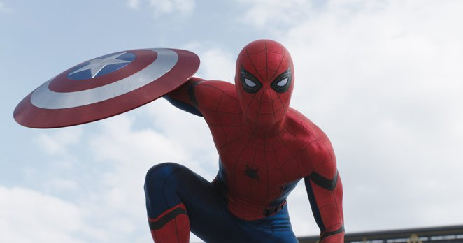 Spider-man's debut in MARVEL's Captain America: Civil War