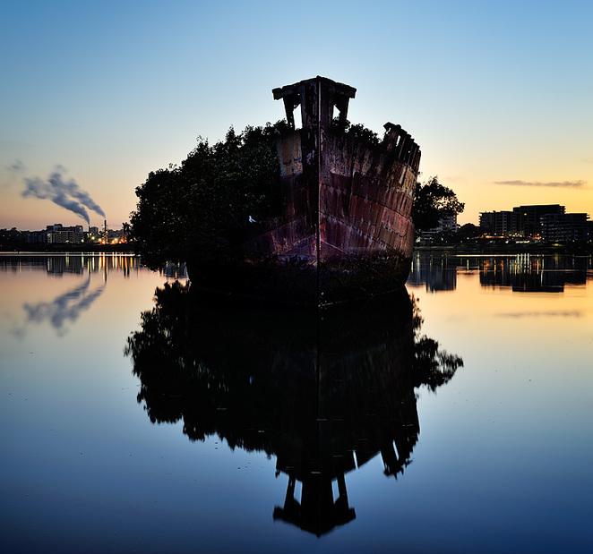 ss Ayrfield Shipwreck of Homebush Bay