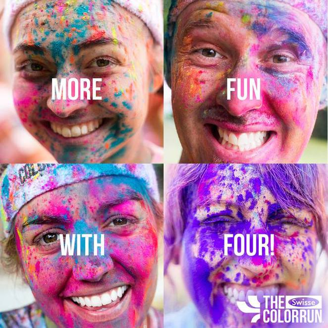 the color run, colour run, sydney fun runs