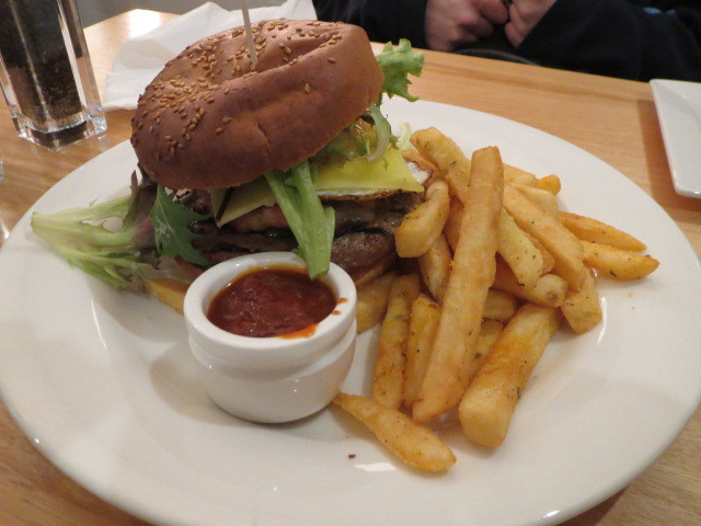 The Cumby, The Cumby Burger, Adelaide