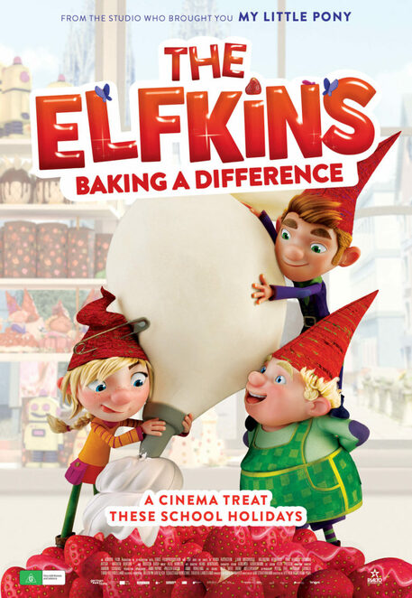 the elfkins baking a difference, cinema, community event, fun things to do, entertainment, film review, movie review, ute von munchow pohl, animated film, family friendly film