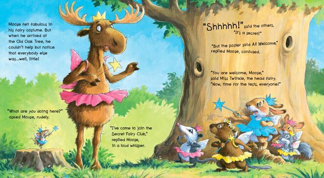 The Moose Fairy, books for children who love animals, books for kids who love animals, kids books, moose book