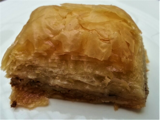 Turkish sweet, baclava, desert