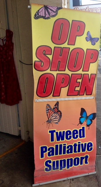 Tweed Palliative Care Op Shop, preloved clothing, used furniture, household goods, second hand goods, bric-a-brac, toys, books, electrical items, collectables, Murwillumbah
