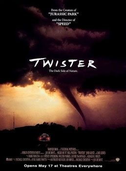 Twister, tornado, TOTO, Helen Hunt, Weather movie, Oklahoma, storm chasers