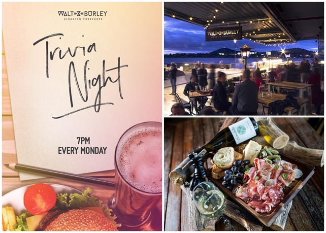 walt and burley, trivia night, kingston foreshore, monday nights, whats on, nightlife, weeknight, burger deals, things to do, south canberra, best trivia nights, iq trivia,
