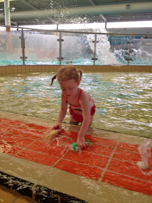 Waves Wave Pool Swimming Summer Hot Days Toddler Pool Water Play