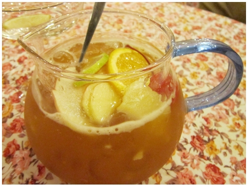 Winter Warmers Tea and Coffee House, Bone China, penang, Iced Fruit tea