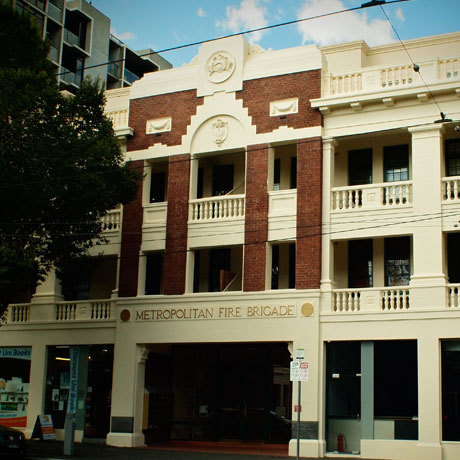 Former No.3 Fire station, Swanston Street