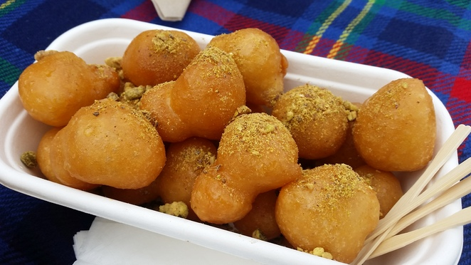 Loukoumades from Honey Puff Lads
