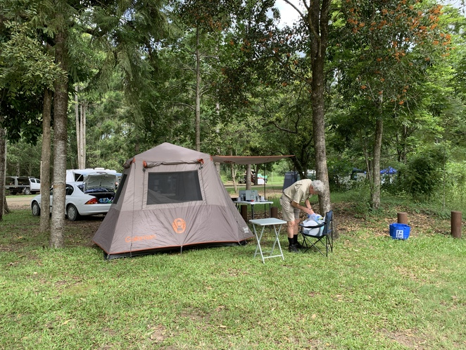 Amamoor State Forest and National Park Camping, Cedar Grove Camping Area, Amamoor Creek camping area, Amamoor Creek camping area, Amama day use area, Amamoor Township.