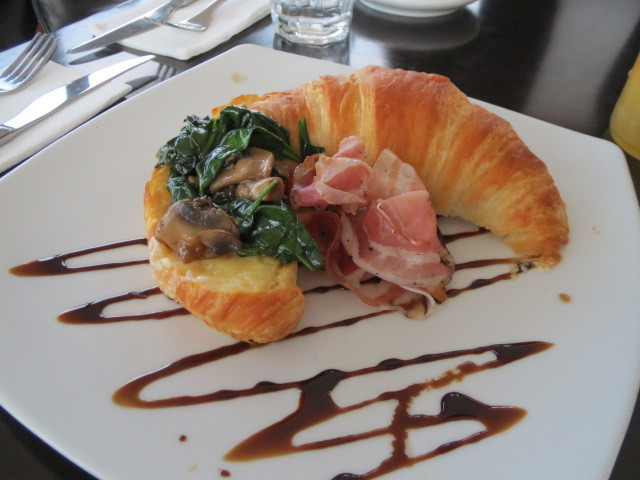 Breakfast at Watershed Cafe, Watershed Croissant, Adelaide
