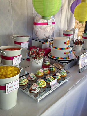 Candy Corner Lolly Buffet