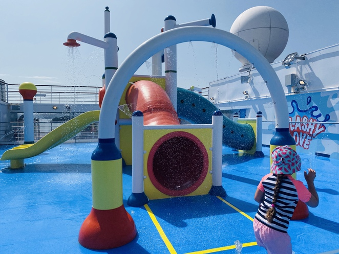 carnival splendor, carnival cruise line, cruising with kids, family cruises, waterworks