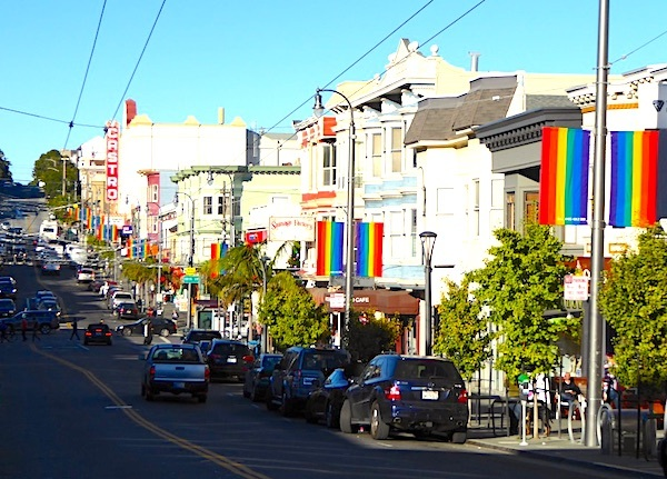 Castro street district gay san francisco