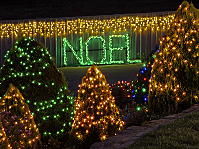 Christmas, Lane, Lights, Display, 2018, Lobethal, Noel