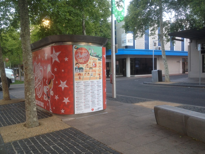 Large version of the Central Geelong Christmas Trail
