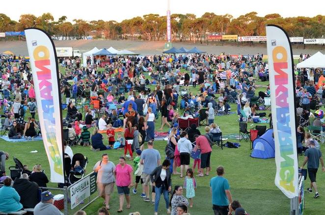 city of Onkaparinga, firework, Australia day, celebration, multiculturalism, lifestyle, democracy, bush heritage, gold coin, wood chopping, pony rides, rock climbing, face painting, games, native animals, mini train rides, awards, picnic, food trucks