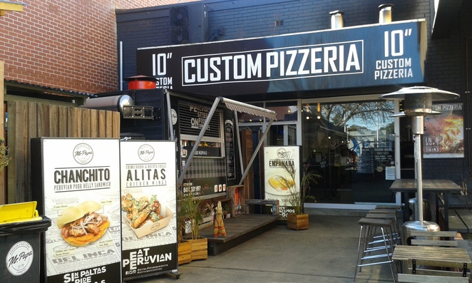 Custom Pizzeria, The Hamlet, Braddon, Canberra, Food Trucks