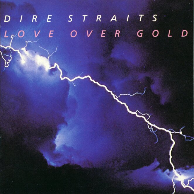 dire straits, band, love over gold, album, cover, music