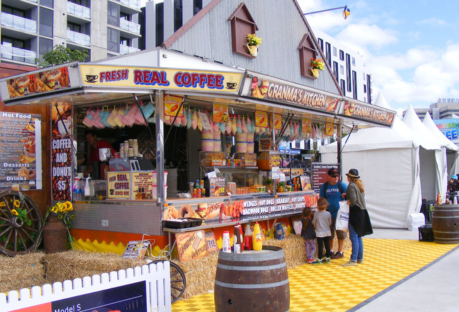 Ekka is an opportunity to eat traditional show food
