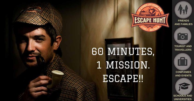Mission Room Escape Sydney