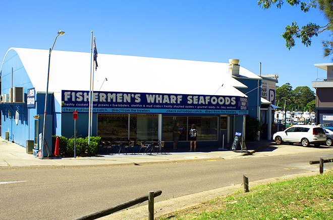 Fisherman's Seafood Nelson Bay. Fisherman's co-op Nelson Bay
