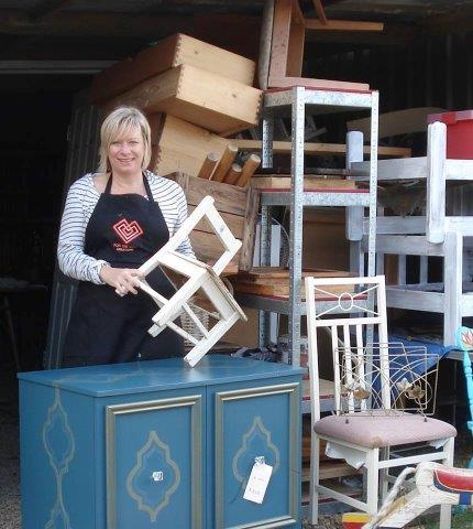 For the Love Creations, Garage Sale Trail, vintage, recycle, upcycle, reuse, furniture