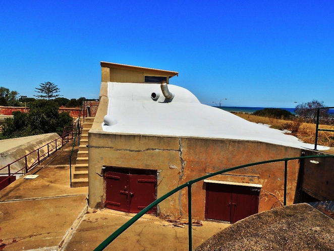 fort largs, fort largs police academy, australian forts, about adelaide, sa police, police academy, coastal fort, sapol, heritage sites, observation post