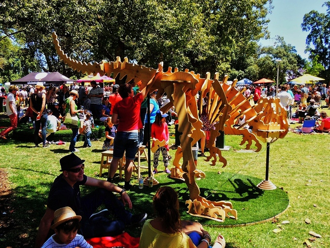 free things to do in adelaide, fun things to, fun for kids, in adelaide, things to see and do, family entertainment, free event, tonsley, mini maker faire, dig-a-dino