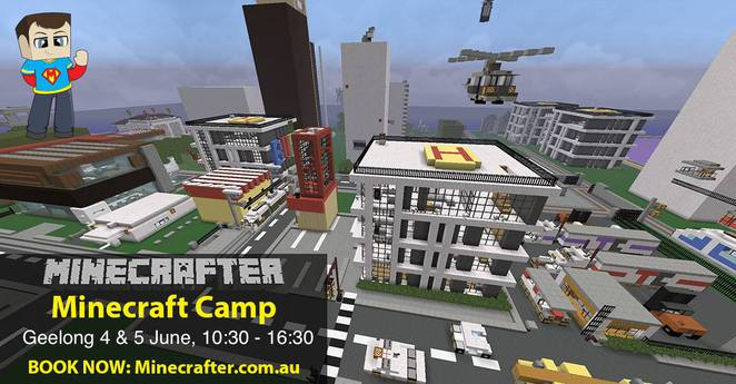 Geelong 2 Day Minecraft Camp