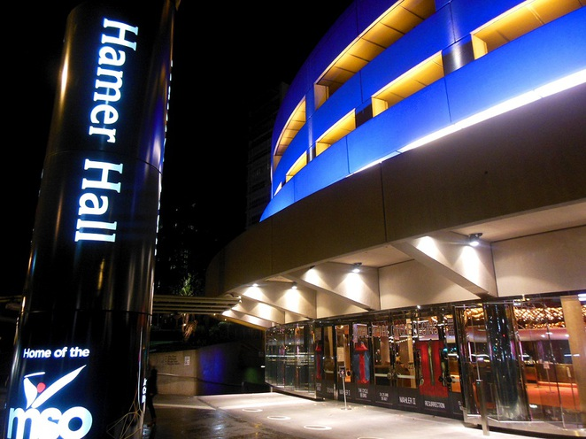 hamer hall melbourne