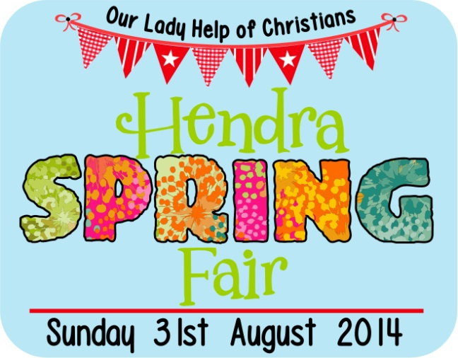 Hendra Spring Fair, what's on August,