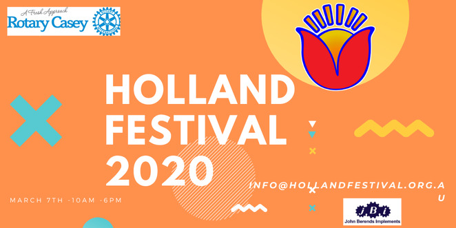 holland festival 2020, community event, cultural event, fun things to do, holland festival australia, dutch food, gezelligheid, ollie bollen, kibbeling, frites, croquettes, bitterballen, fresh stroopwafers, poffertjes, boterkoek, restaurant, boerenkoel with rookworst, bahmi goring, grocery stall, dutch groceries, entertainment, activities, fun things to do, live performances, music, amsterdam street organ, tabletop shuffleboard game, sjoelbak championship, kermis, childrens carnival, rides, jumping castle, kermis wristband, fun for kids, family fun