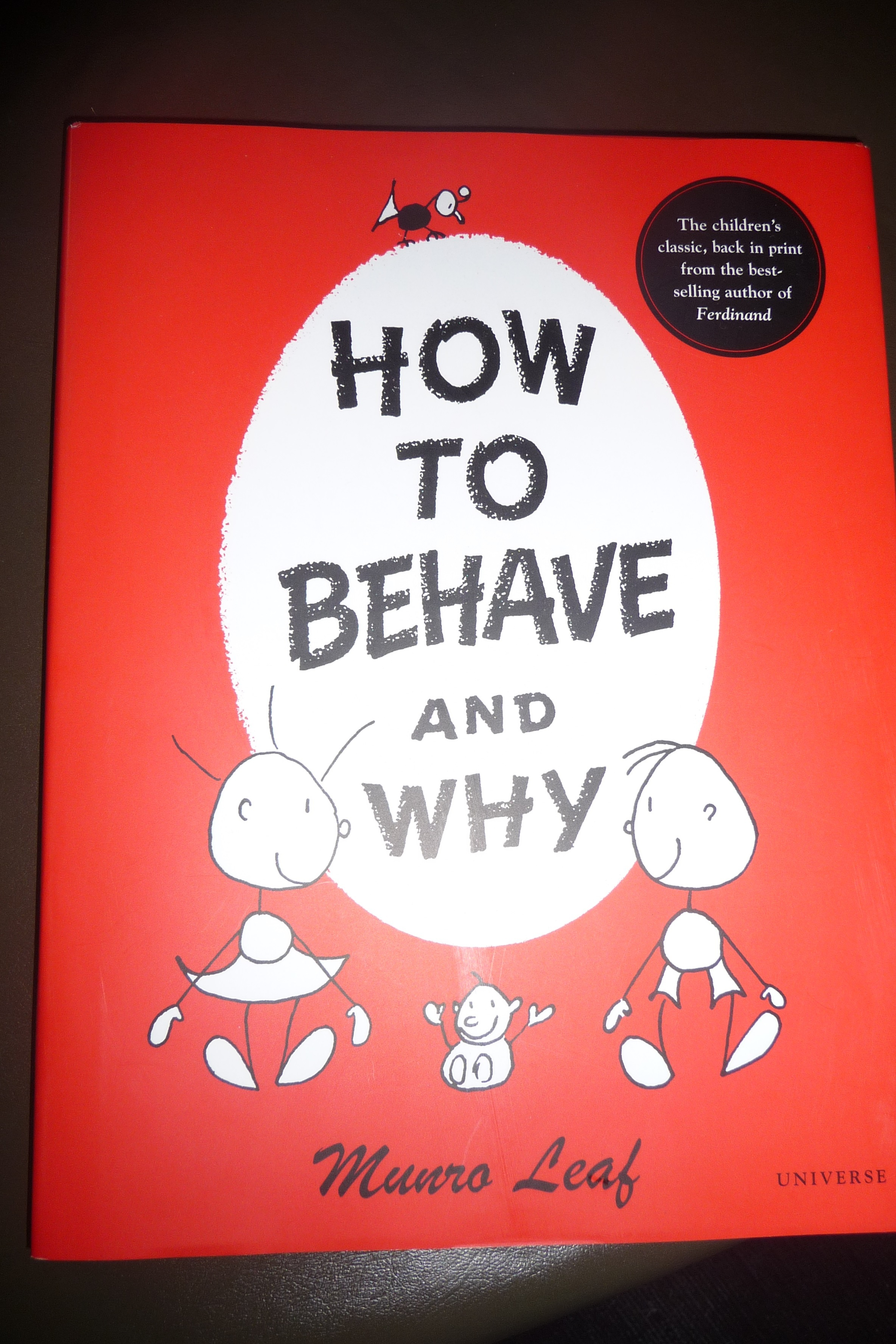 How to behave 63