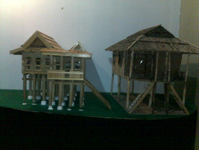 Indonesia, holiday, traditional, miniature, traditional house