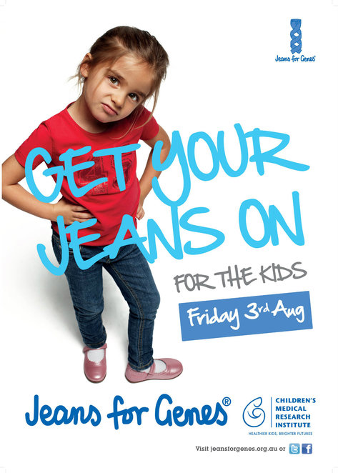 jeans for genes day 2018, community event, fun things to do, fundraiser, charity, fight cancer, fight with me, fight for me, local hero, children's medical research institute, treatments and cures, fight genetic diseases, cmri aus, the cesare lab, denim dinner