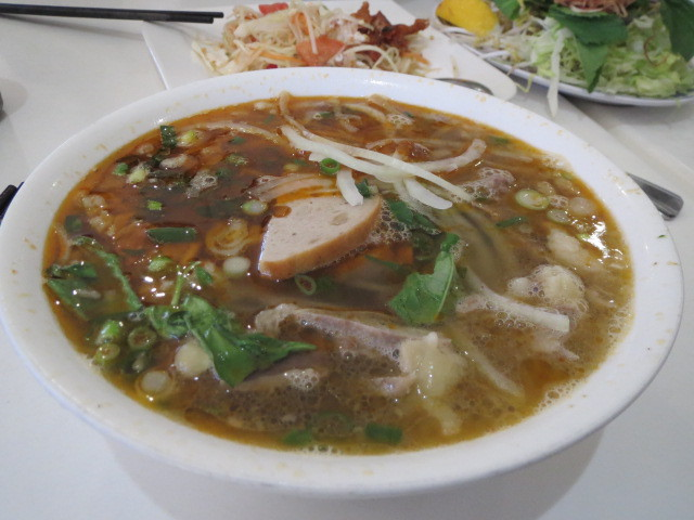 Khang's Noodles, Spicy Beef and Pork Soup, Adelaide