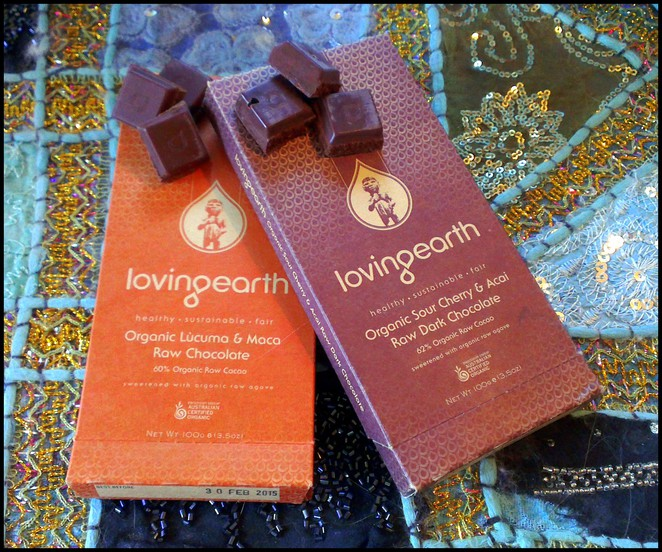 loving earth chocolate, healthy chocolate, raw organic chocolate