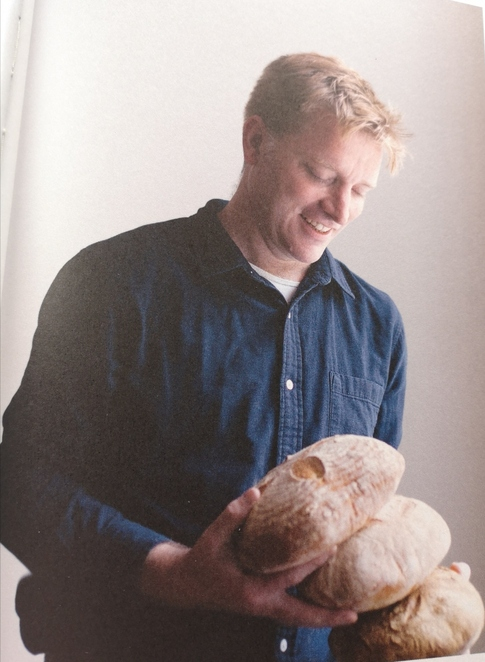 making sourdough, author Roly Allen, How to Raise A Loaf and fall in love with sourdough, keeping calm during lockdown