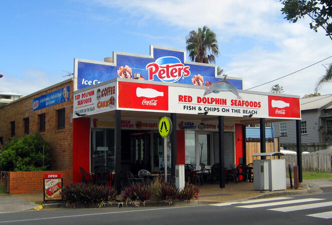 Red Dolphin Seafoods is a great value for money fish 'n' chips shop