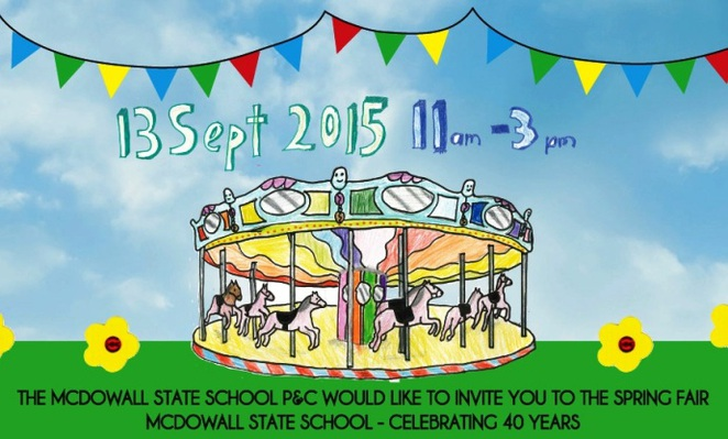 Image courtesy of the McDowall State School Spring Fair website