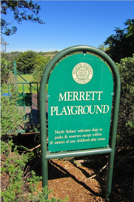 Merrett Playgroind, Waverton Peninsula, Waverton Station, Sydney playground,