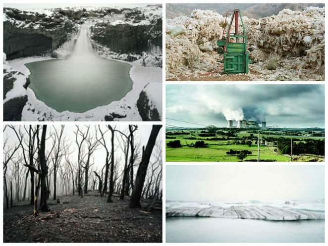 michael hall the story of our planet unfolds exhibition photography customs house sydney climate change