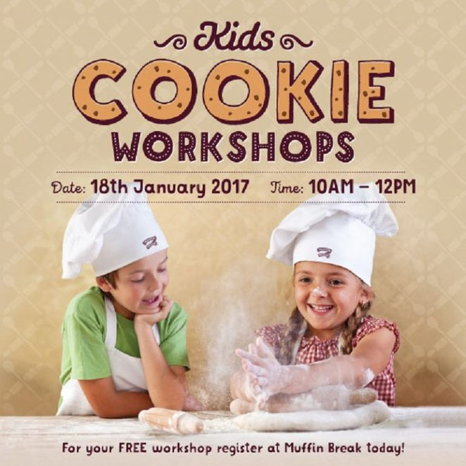 Muffin Break Cookie Workshops